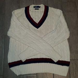 Mens Ralph Lauren Polo knit sweater